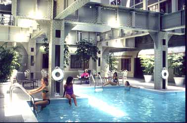 Crowne Plaza Indoor Pool
